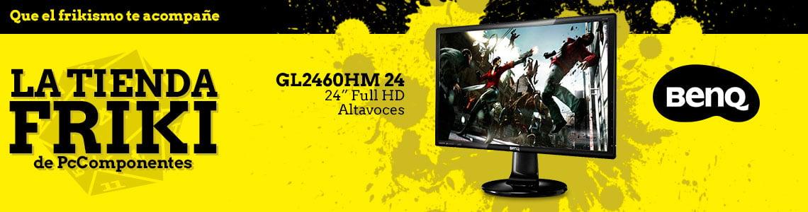 Benq con su monitor GL2460HM en la Tienda Friki de PcComponentes